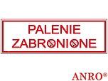 ZNAK BHP PALENIE ZABRONIONE ZZ-110...