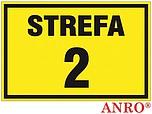 ZNAK BHP STREFA 2 ZZ-11G ZZ11G