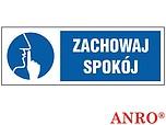 ZNAK BHP ZACHOWAJ SPOKÓJ ZZ-11KL...