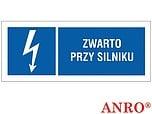 ZNAK BHP ZWARTO PRZY SILNIKU ZZ-12EIB...
