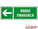 ZNAK BHP DROGA EWAKUACYJNA ZZ-12KL...