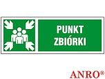 ZNAK BHP PUNKT ZBIÓRKI ZZ-13KL ZZ13KL