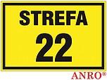 ZNAK BHP STREFA 22 ZZ-14G ZZ14G