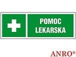 ZNAK BHP POMOC LEKARSKA ZZ-14KL ZZ14KL