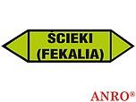 ZNAK BHP ŚCIEKI(FEKALIA) ZZ-1K7 ZZ1K7