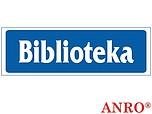 ZNAK BHP BIBLIOTEKA ZZ-31 ZZ31