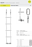 DRABINA LINOWA PROTEKT DL011 5m 10m 15m...