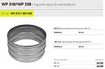 ŁĄCZNIK WĘŻA DO WENT. WP310 WP330...