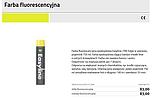 FARBA FLUORESCENCYJNA PROTEKT EASYLINE...