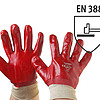 RĘKAWICE CONSORTE R420 POWLEKANA PCV NORMA EN388