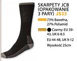 SKARPETY JCB JS33 OPAK 3 PARY