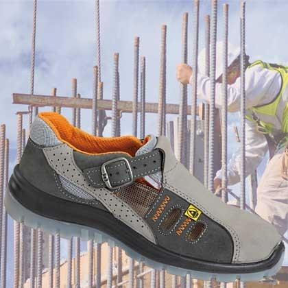 Sandały robocze damskie PPO 282 S1