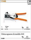 OSTRZE ZAPASOWE BETA 1143R DO SZCZYPIEC...