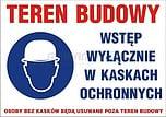 ZNAK BHP TBO-99 PCVZ TEREN BUDOWY...