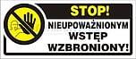 ZNAK BHP TBI-14N FS STOP!...