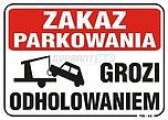 ZNAK BHP TBI-52 PCVZ ZAKAZ PARKOWANIA...